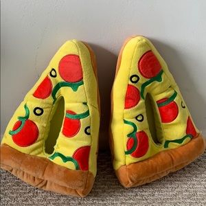 Pizza slippers from Target